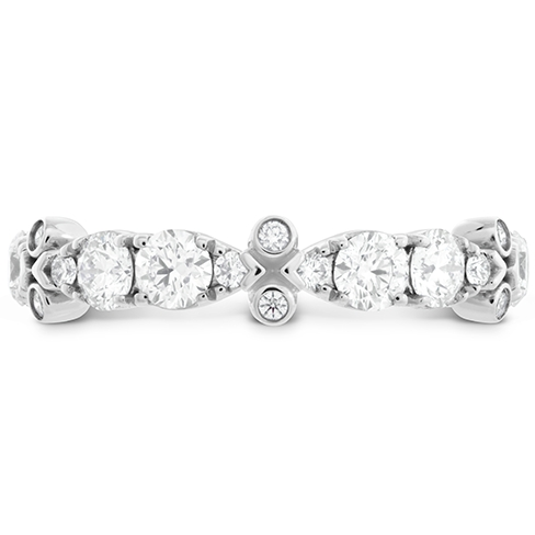 HOF Double Teardrop Bezel Diamond Band product image