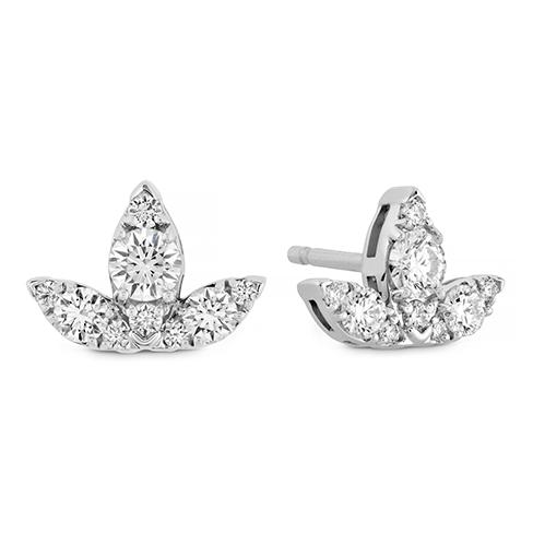 Aerial Triple Diamond Stud Earrings - S product image
