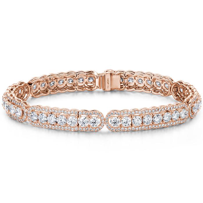8.8 ctw. Aurora Line Bracelet in 18K Rose Gold product image