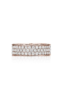 Henri Daussi Women's Wedding Bands R19-7 E