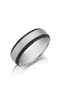 Henri Daussi Men's Wedding Bands MB2E