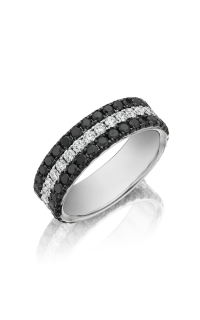 Henri Daussi Men's Wedding Bands MB8E
