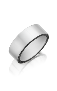 Henri Daussi Men's Wedding Bands MB11E