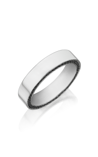 Henri Daussi Men's Wedding Bands MB40E