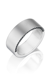 Henri Daussi Men's Wedding Bands MB10H