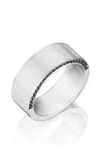 Henri Daussi Men's Wedding Bands MB11H