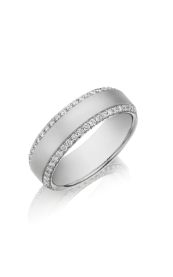 Henri Daussi Men's Wedding Bands MB1E product image
