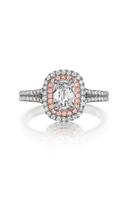 Henri Daussi Cushion Engagement ring ADTP product image