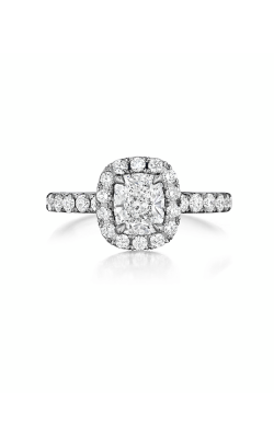 Henri Daussi Daussi Cushion Engagement ring AHWS product image