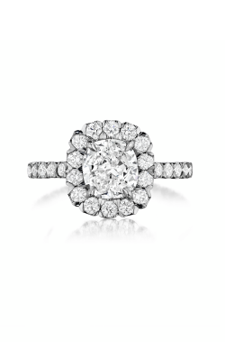 Henri Daussi Daussi Cushion Engagement ring AJK product image