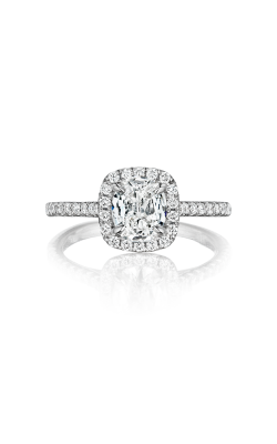 Henri Daussi Cushion Engagement ring ALG product image