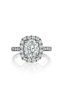 Henri Daussi Cushion Engagement Ring AMDM product image