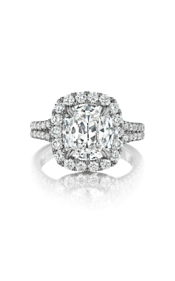 Henri Daussi Cushion Engagement ring AMDS product image