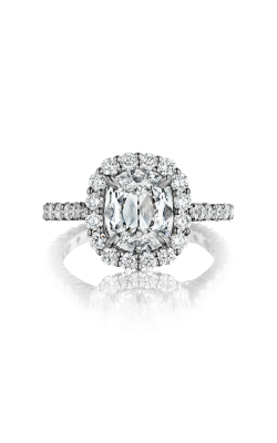 Henri Daussi Daussi Cushion Engagement ring ANV product image