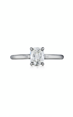 Henri Daussi Cushion Engagement Ring AS product image