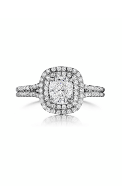 Henri Daussi Cushion Engagement ring ADTS product image