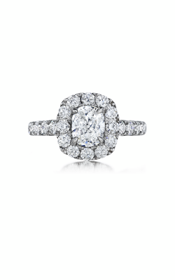 Henri Daussi Cushion Engagement Ring AWSB product image