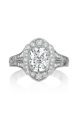 Henri Daussi Cushion Engagement Ring AFL product image