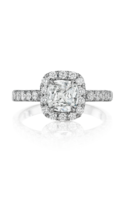 Henri Daussi Cushion Engagement Ring AL product image