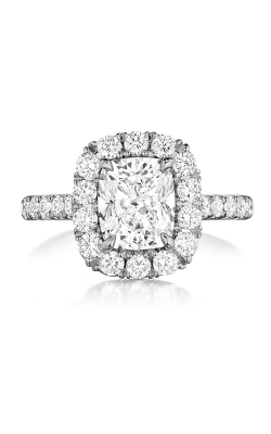 Henri Daussi Brilliant Engagement Ring AMDM product image