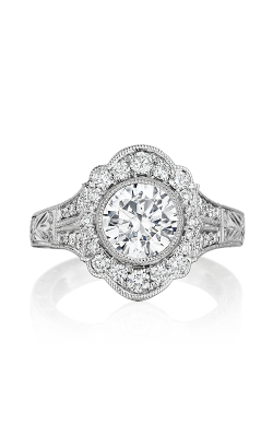 Henri Daussi Brilliant Engagement Ring BFL product image
