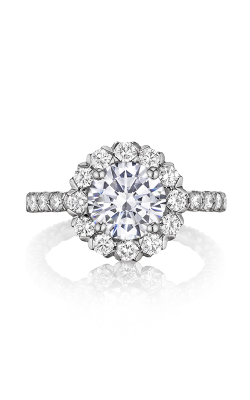 Henri Daussi Brilliant Engagement Ring BJK product image