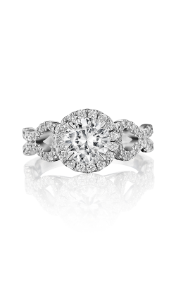 Henri Daussi Brilliant Engagement Ring BKSA product image