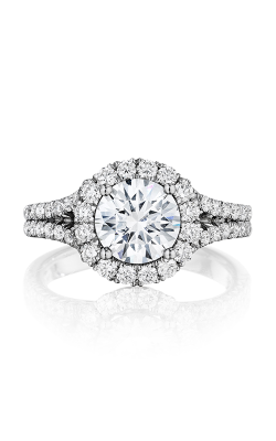 Henri Daussi Brilliant Engagement Ring BMDS product image