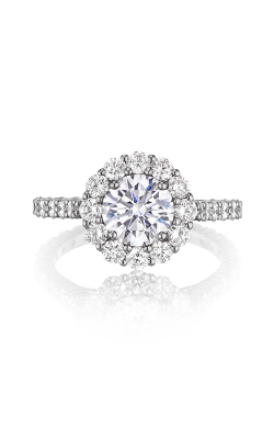 Henri Daussi Brilliant Engagement Ring BNV product image