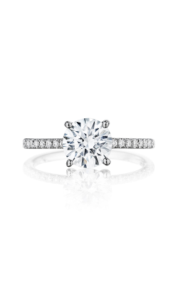 Henri Daussi Brilliant Engagement Ring BSX product image