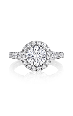 Henri Daussi Brilliant Engagement Ring BV product image