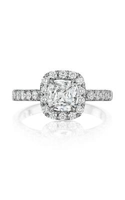 Henri Daussi Cushion Engagement ring AL product image