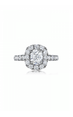 Henri Daussi Brilliant Engagement Ring ZW product image