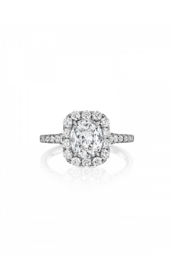 Henri Daussi Brilliant Engagement Ring HAVS product image