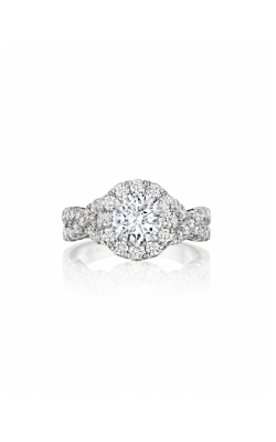 Henri Daussi Engagement Ring HAW product image