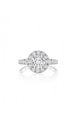 Henri Daussi Brilliant Engagement Ring HAV product image