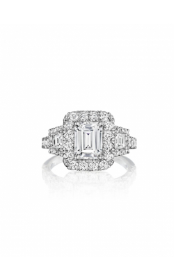 Henri Daussi Engagement Ring HACMT product image
