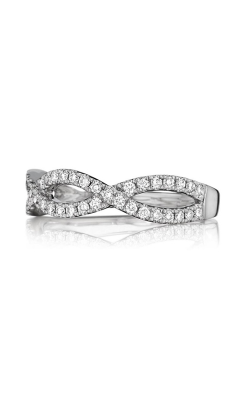 Henri Daussi Women's Wedding Bands Wedding Band R23-1H product image