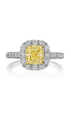 Henri Daussi Fancy Colors Engagement Ring AMDMY product image