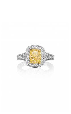 Henri Daussi Fancy Colors Engagement Ring AZPY product image