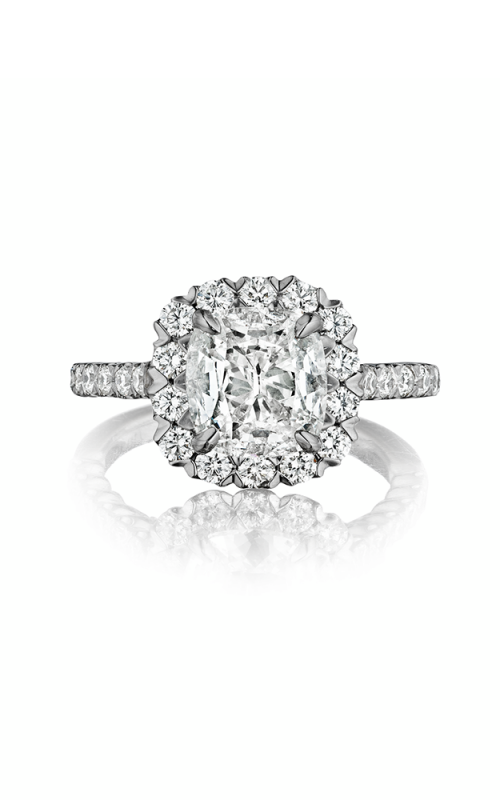 Henri Daussi Cushion Engagement Ring AJS product image