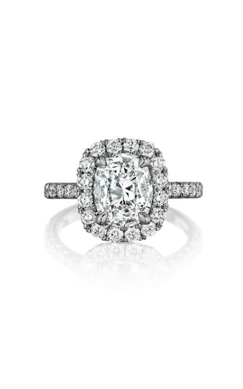 Henri Daussi Cushion Engagement Ring AMDM product image