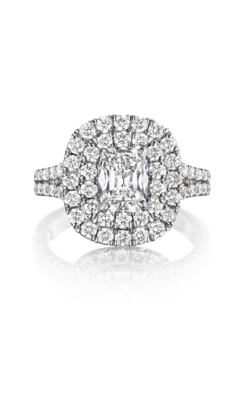 Henri Daussi Cushion Engagement Ring AQS product image