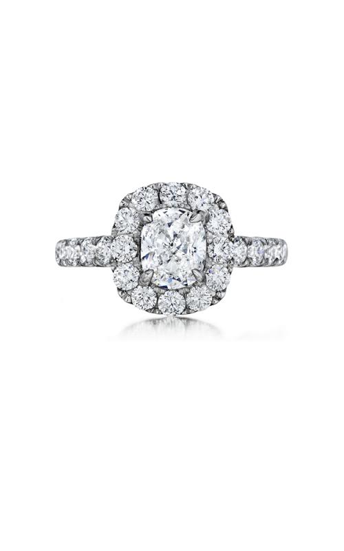 Henri Daussi Cushion Engagement ring AWSB product image