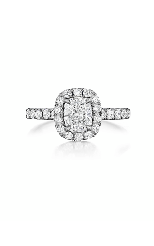 Henri Daussi Cushion Engagement Ring AHWS product image