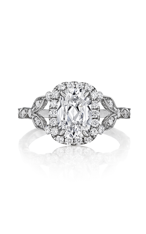 Henri Daussi Cushion Engagement Ring AGCS product image