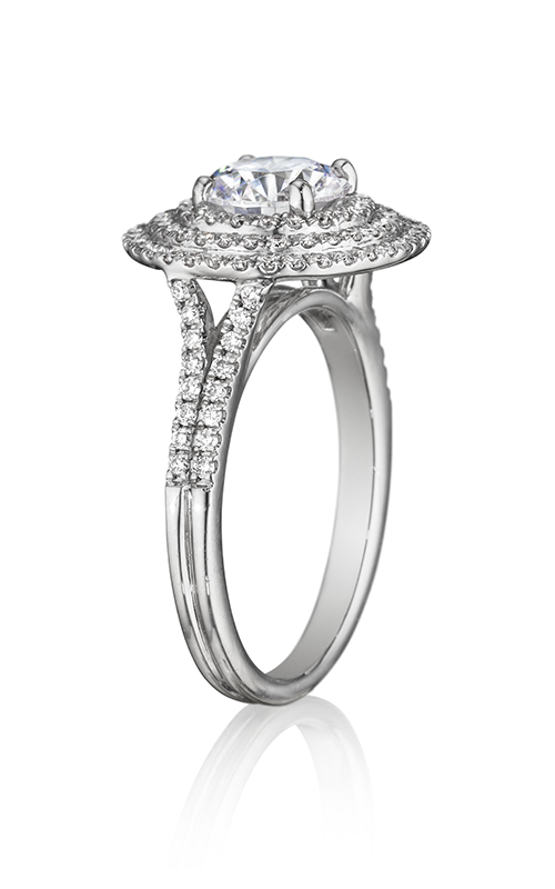 Henri Daussi Brilliant Engagement Ring BDT product image