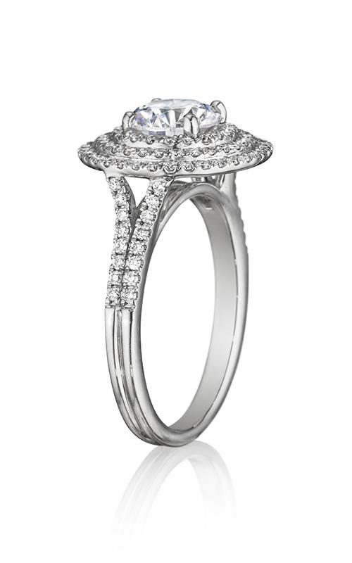Henri Daussi Brilliant Engagement Ring BDTS product image