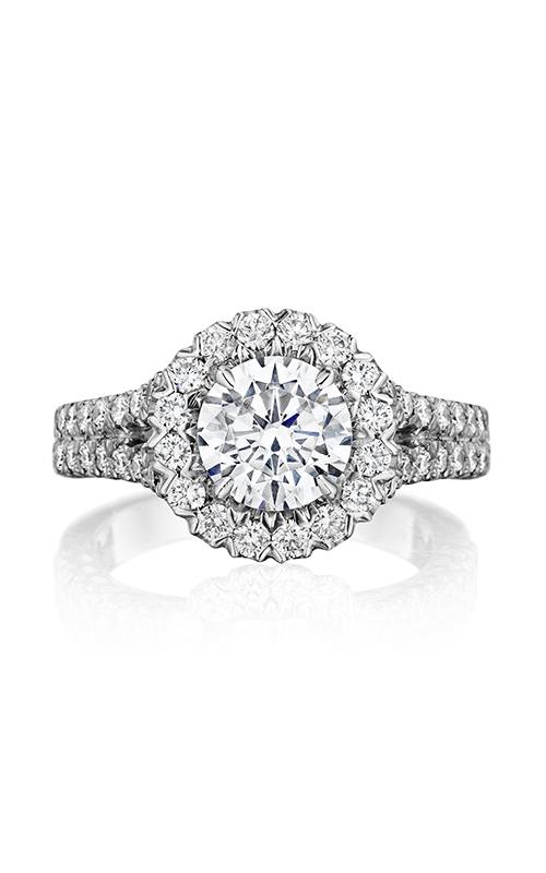 Henri Daussi Daussi Brilliant Engagement ring BKS product image