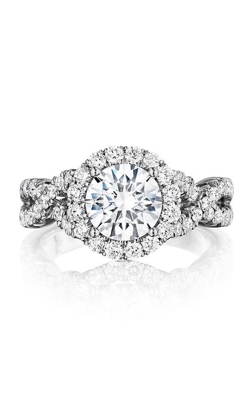 Henri Daussi Brilliant Engagement Ring BW product image